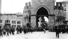 April 21, 1945, Allied forces enter Bologna without firing a single shot as the city has   already been liberated by the partisans.