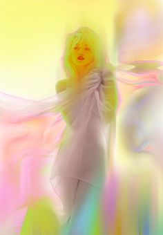 Sky Ferreria shot by photographer Nick Knight for AnOther Man Magazine #photography #pastels