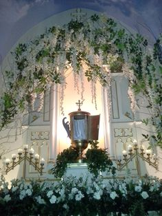 Altar of Repose, Holy Thurday