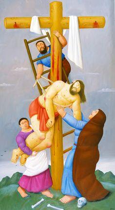 THE PASSION OF CHRIST - Fernando Botero