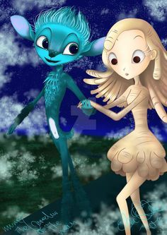 Mune And Glim By Littlechill Animated Movies Guardian Of The Moon The Last Unicorn