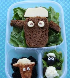Do you have a little one who loves Shawn the Sheep? Check out this #EasyLunchboxes Lunch