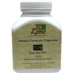 Restore the Left Kidney Formula• Supplement the Liver and Kidney yin, tonify the blood*