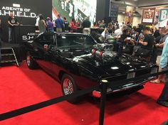 SDCC 2016 Ghost Rider Car Agents of SHIELD Agents of S.H.I.E.L.D.s Ghost Rider Car Unveiled by Cast