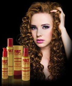 Fat Curl Products...This stuff works great on my naturally curly hair.