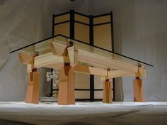 Craftsman Timber Frame Furniture asian-coffee-tables
