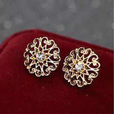 Dames+Collar+Naald+Legering+Ronde+vorm+Sieraden+Voor+Causaal+Kerstmis+–+EUR+€+4.69 Collars For Women, Rings, Floral, Casual, Stuff To Buy, Jewelry, Fashion, Moda, Jewlery