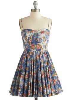 Plaza Picnic Dress, #ModCloth