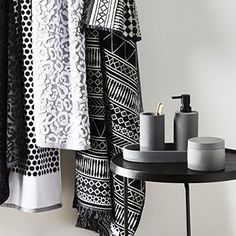 Add a touch of class to your bathroom experience with our Adairs bathroom products range. From towels & bath mats to bath robes & other accessories.