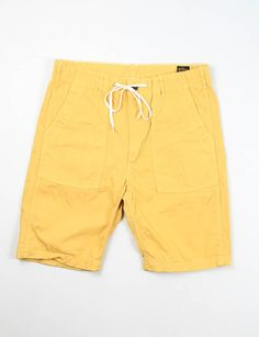 orSlow Yellow US Army Fatigue Short