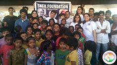 SNEH Foundation was founded with a vision to provide equal means and opportunities of education to the unprivileged children of our nation, spreading awareness pertinent to health issues and making the underprivileged families cognizant of a nutritious meal. We invite everybody to explore CSR opportunities with the us. Contact link:http://goo.gl/UQ1BfI