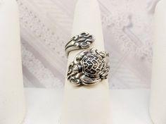 Spoon Ring - The ORIGINAL Silver Turtle SPOON RING - Sea Turtle - Jewelry by BirdzNbeez -  Wedding Birthday Bridesmaids Gift on Etsy, $26.00