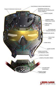interior casco hombre de hierro