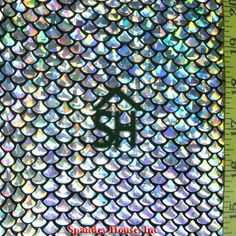 Fabric inspiration: Silver Holographic Foil on top Black Nylon Spandex. The fabric has a holographic fish scale look. Holographic Foil, Hologram, Little Mermaid Birthday, The Little Mermaid, Mermaid Wallpapers, Mermaid Fabric, Small Fish, Fish Scales, Easter Crafts
