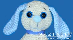DIY Learn How to Crochet Dog Pup Puppy Doggy Toy Amigurumi Stuffed Animal Pet with Youtube Tutorial Video by Naztazia