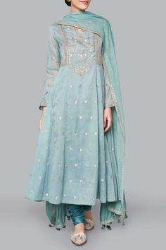 Wedding Suits - Buy Ayaana Suit for Women Online - Blue - Anita Dongre Pakistani Dress Design, Pakistani Outfits, Indian Wedding Outfits, Indian Outfits, Bridal Outfits, Suits For Women, Clothes For Women, Indian Designer Suits, Dress Indian Style