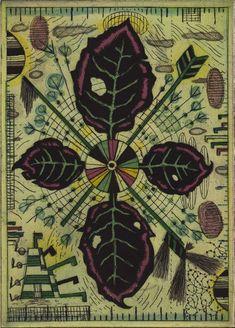 Black Petals by Tony Fitzpatrick