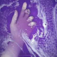 aesthetic, aesthetics, purple, soft grunge, water, First Set on Favim ...