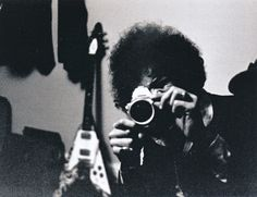 Jimi Hendrix films Nick Mason taking his photo during the Pink Floyd / Jimi Hendrix tour (photo from Nick Mason's book Inside Out)