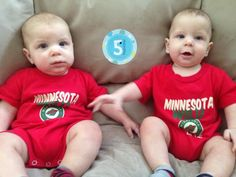 These young Wild fans are ready for October. Thanks @bearcave94 for the photo. #IsItOctoberYet?