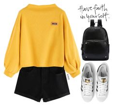 """""""Romwe #1 IV"""" by oliverab ❤ liked on Polyvore featuring adidas Originals, Les Petites..., casual, romwe and sporty"""