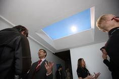 Futuristic Interior, The Artificial Skylight That You Won't Believe Isn't Real, CoeLux, Future Architecture