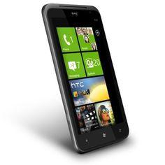 Bargain HTC X310E Titan Unlocked Smartphone with Windows Phone OS 7.5, 8 MP Camera, 16 GB Internal Storage, Touchscreen, Wi-Fi, GPS--No Warranty (Carbon Gray)