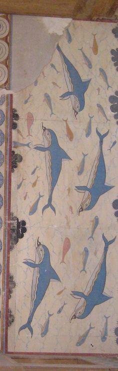 I delfini fluttuanti di Creta