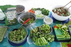 Green food ideas for St. Patrick's day lunch