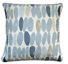 """Cushion Cover Made With Wallace Seaspray Blue Laura Ashley Fabric 16"""" Scatter"""