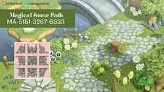 Motif Acnl, Rock Path, Motifs Animal, Path Design, Floor Design, Design Ideas, Stone Path, Animal Crossing Game, Island Design