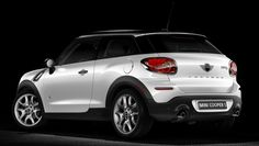 Want a new car....xXx Mini Cooper Paceman in candy white with the black top....sigh