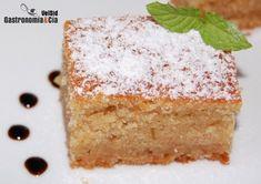 Receta de Bizcocho de queso y café   Gastronomía & Cía