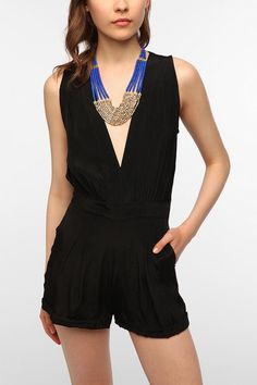 """Check out """"Motel Janet Romper"""" Decalz @Lockerz...dnt like the necklace"""
