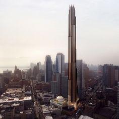 340 Flatbush Avenue in downtown Brooklyn by SHoP Architects