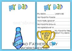 Time for a Quiz | Father's Day Free Printables