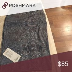 Lulu Twice As Nice Skirt New with tags!  Size 4 / small Unique pencil line skirt with geometric design!  Looks like beads - great stretch material lululemon athletica Skirts Pencil