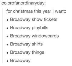 Broadway actors need to be on that list