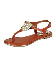 Take a look at this Tan Toby-03 Sandal by Breckelle's on #zulily today!
