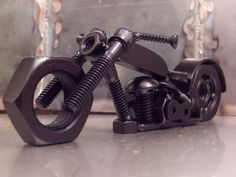 This welded art is nuts (and bolts) | MAKE