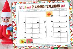 You can find your free printable Elf on the Shelf planning Calendar for 2017 right here! Good news! Thanksgiving is EARLY this year which means EVEN MORE days to find things for your Elf on the Shelf to do. Of course that's if he appears around Thanksgiving. Hopefully, your Elf on the Shelf comes sometime in December! But don't worry! We have 35 BRAND NEW ideas below, that should help fill your calendar. But regardless, this Elf on the Shelf tradition does require PLANNING so we hope that…