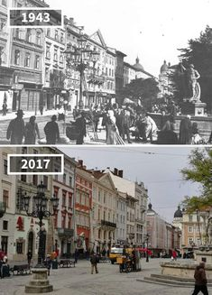 81 Before & After Pics Showing How The World Has Changed Over Time By Re. Then And Now Pictures, Before And After Pictures, Old Pictures, Rare Historical Photos, Santa Ana, Strange History, Paris City, Tour Eiffel, Change