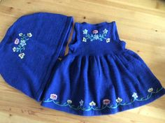 Knitting For Kids, Kids Outfits, Costumes, Summer Dresses, Children, Skirts, Fashion, Tricot, Flowers