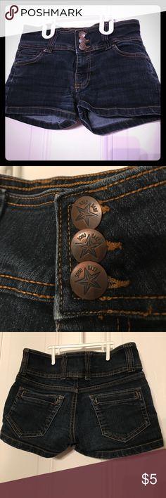 Soho Babe Jean shorts Great condition. Three buttons. Soho Apparel Shorts Jean Shorts