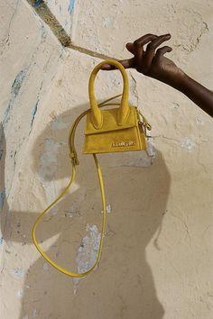 Mixed Editorials: La Bomba by Jacquemus Photography Bags, Photography Accessories, Jacquemus Bag, Soft Ghetto, Fashion Photography Inspiration, Comfort Colors, Mellow Yellow, Mini Bag, Handbags