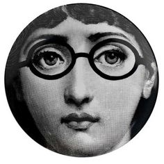 Fornasetti Tema e Variazioni Wall Plate - No.26 ($168) ❤ liked on Polyvore featuring home, home decor, circles, handmade home decor and fornasetti