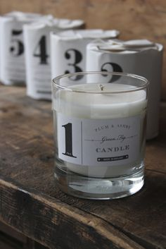 I couldn't resist adding these beautiful candles - great packaging too!
