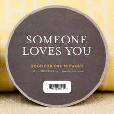 Drybar Blow Out Gift Certificate - there are no words to describe the life affirming powers of a good blow out.