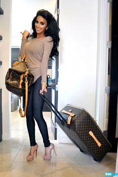 Lilly Ghalichi...Always so glam. Always travel in style. Someday. ^_~ <3