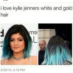 Love her white and gold hair!